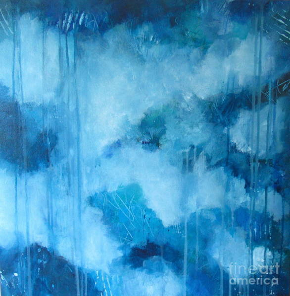 Wall Art - Painting - Head In The Clouds by Kate Marion Lapierre