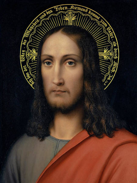 Believers Painting - Head Of Christ by Joseph Schlotthauer