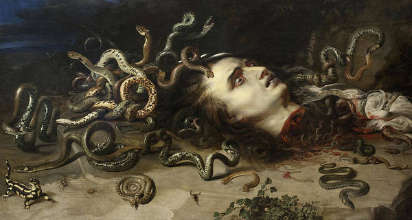 Wall Art - Painting - Head Of Medusa, 1617 by Peter Paul Rubens