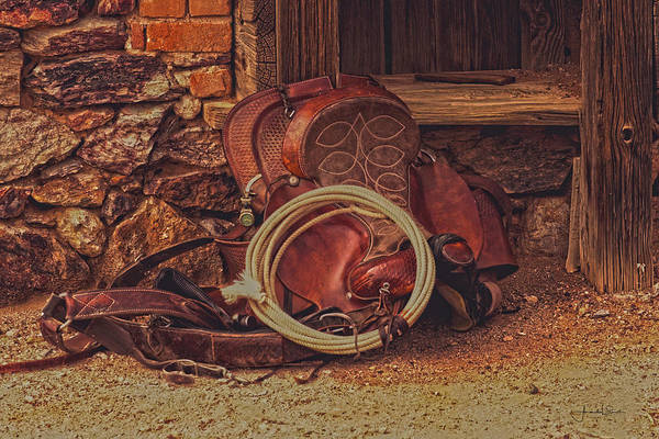Photograph - Head Wrangler's Saddle by Amanda Smith