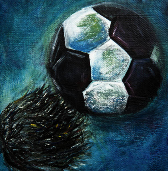 Mfa Wall Art - Photograph - Headbudding Soccerball  by Iris Richardson
