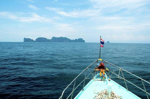 Phi Photograph - Heading To Phi Islands by Royen0822