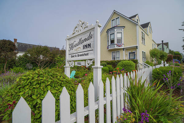 Photograph - Headlands Inn Bed And Breakfast by Jonathan Hansen