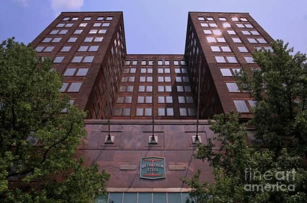 Wall Art - Photograph - Headquarters Bethlehem Steel by DJ Florek