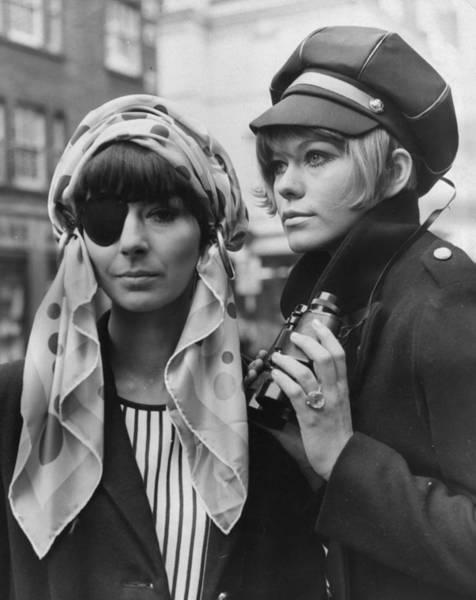 Binoculars Photograph - Heads Together by Keystone