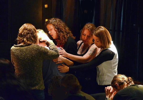 Wall Art - Photograph - Healing Hands Of Prayer - Bend, Oregon by John Melton