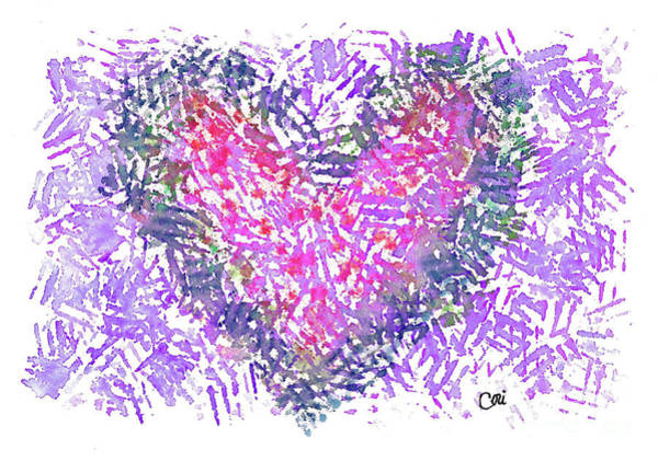 Digital Art - Heart 1007 by Corinne Carroll