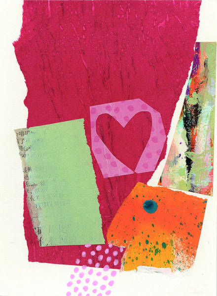 Wall Art - Painting - Heart #25 by Jane Davies