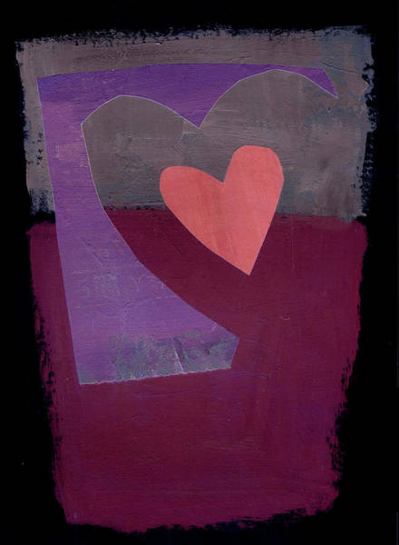 Wall Art - Painting - Heart #37 by Jane Davies