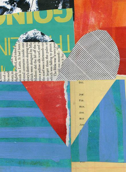 Wall Art - Painting - Heart #47 by Jane Davies