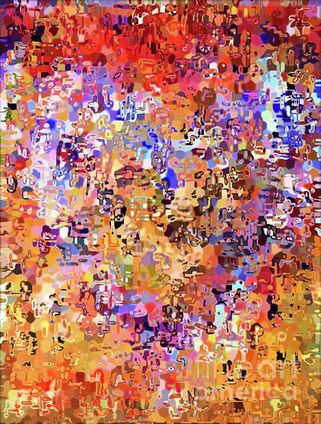 Digital Art - Heart Abstract 1001 by Corinne Carroll
