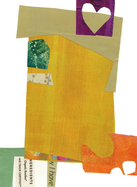 Wall Art - Painting - Heart Collage #5 by Jane Davies