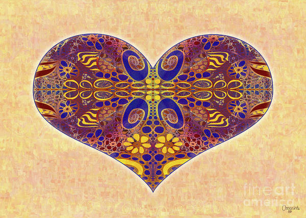 Digital Art - Heart Illustration - Exploding Possibilities - Omaste Witkowski by Omaste Witkowski