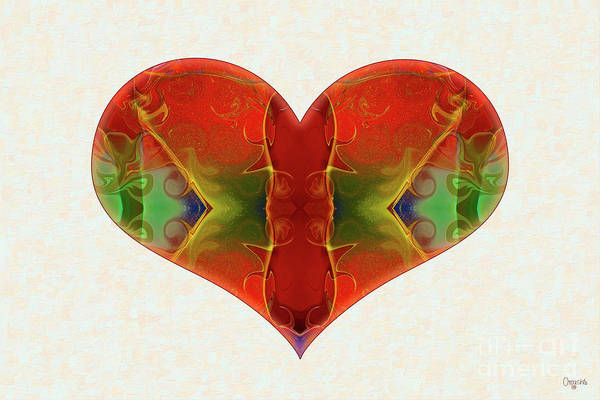 Digital Art - Heart Painting - Vibrant Dreams - Omaste Witkowski by Omaste Witkowski