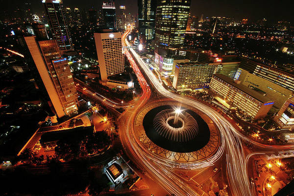 Jakarta Photograph - Heart Of Jakarta by Photo By Sayid Budhi