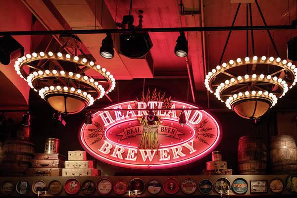 Photograph - Heartland Brewery Interior by Sharon Popek
