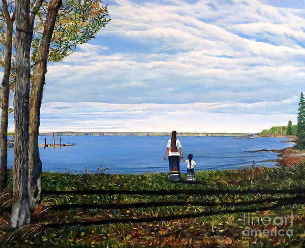 Painting - Hearts Held Dear by Marilyn McNish