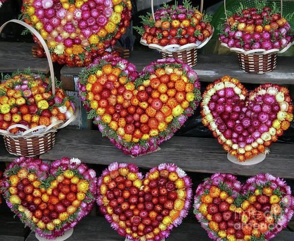 Photograph - Hearts Of Flowers by PJ Boylan