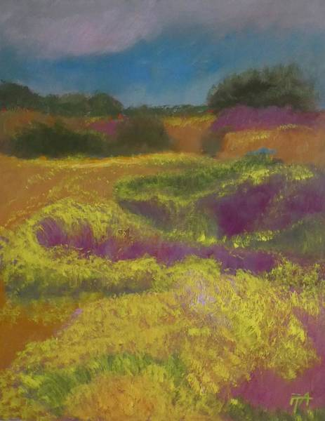 Painting - Heather Meadow by Irena Jablonski