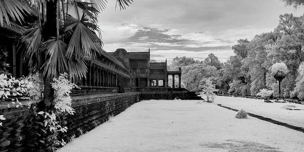 Wall Art - Photograph - Heaven And Hell Gallery, Angkor Wat by Panoramic Images
