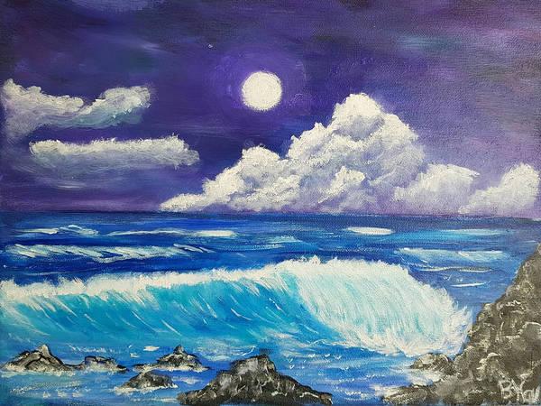 Painting - Heaven Meets Earth by Bernd Hau