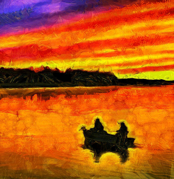 Painting - Heaven On The Lake by Dan Sproul