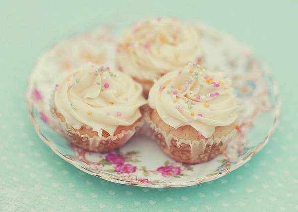 Cupcakes Photograph - Heavenly Cupcakes by Karin A Photography