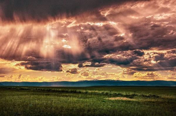 Photograph - Heavenly Laramie Valley by Chance Kafka