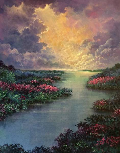 Painting - Heavenly by Randy Burns