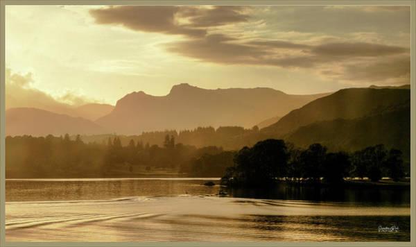 Photograph - Heavens Golden Hour by Lance Sheridan-Peel