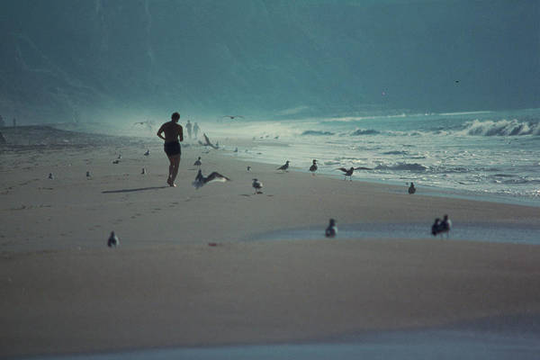 The Great Outdoors Photograph - Heavy Beach Traffic by Great Art Productions