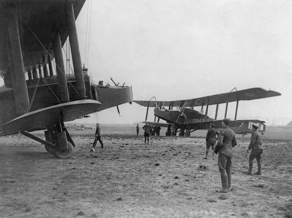 British Armed Forces Photograph - Heavy Bombers by Hulton Archive
