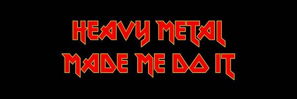 Thrash Metal Wall Art - Digital Art - Heavy Metal Made Me Do It 001 by Lance Vaughn