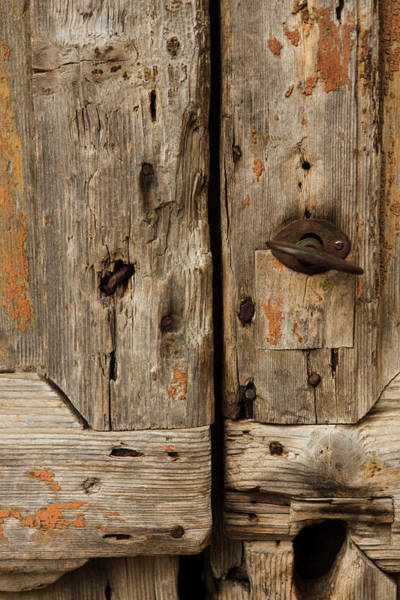 Mfa Wall Art - Photograph - Heavy Wooden Door by Iris Richardson