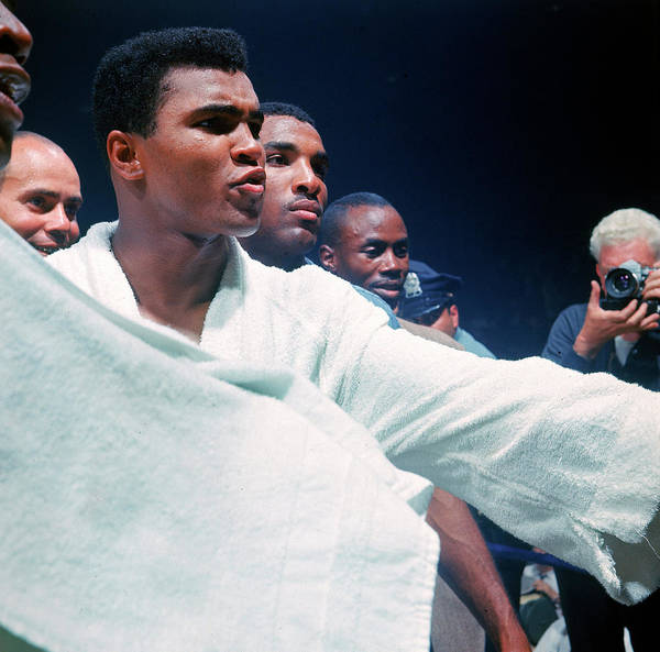 Photograph - Heavyweight Boxer Cassius Clay Aka by John Dominis