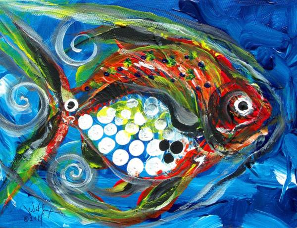 Painting - Hebo Fish by J Vincent Scarpace