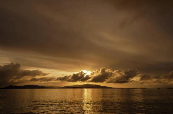 Wall Art - Mixed Media - Hebridean Sunrise by Smart Aviation