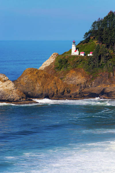 Photograph - Heceta Head Lighthouse Oregon 071019 by Rospotte Photography