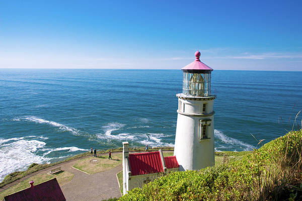 Photograph - Heceta Head Lighthouse Oregon 112218c by Rospotte Photography