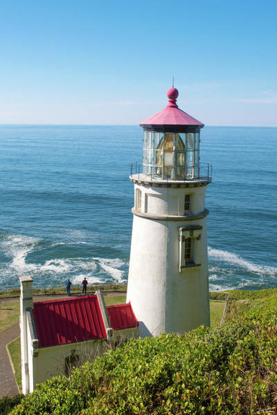 Photograph - Heceta Head Lighthouse V2 070819 by Rospotte Photography
