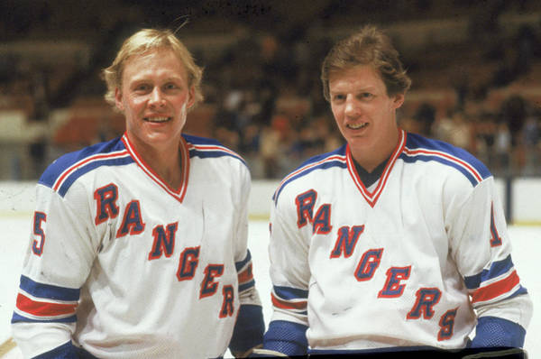 Sport Venue Photograph - Hedberg & Nilsson On The Ice by B Bennett