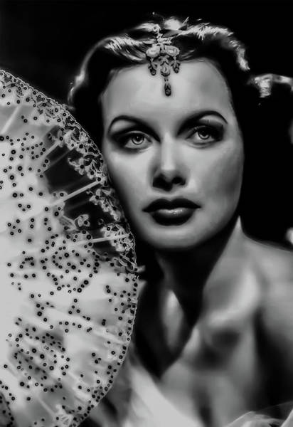 Photograph - Hedy Lamarr by Doc Braham