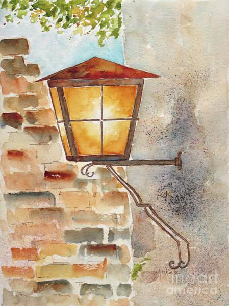 Painting - Heidelberg Lantern by Pat Katz