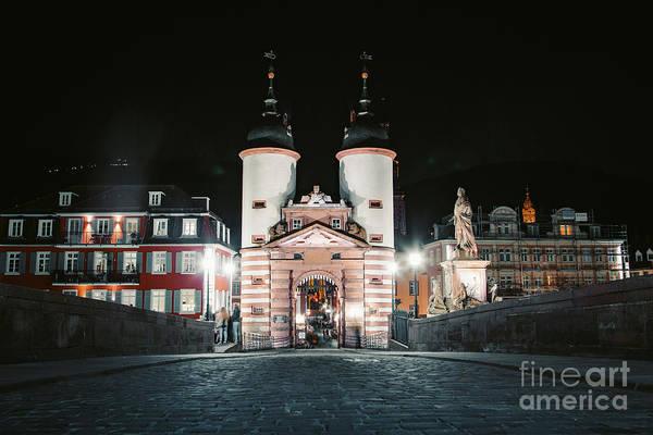 Wall Art - Photograph - Heidelberg Old Bridge by JR Photography