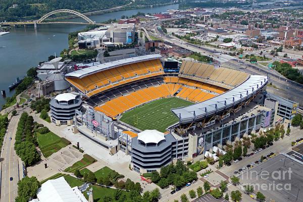 Wall Art - Photograph - Heinz Field In Pittsburgh, Pennsylbania by Bill Cobb