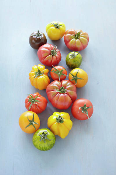Healthy Eating Photograph - Heirloom Tomatoes by Photo Division