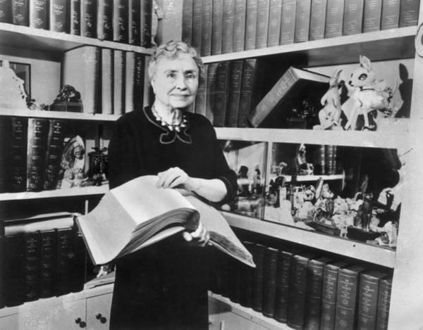 Heroine Photograph - Helen Keller by Hulton Archive