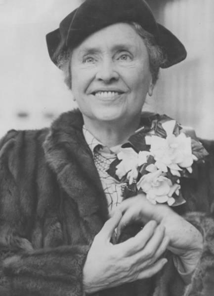 Heroine Photograph - Helen Keller In Britain by Fpg
