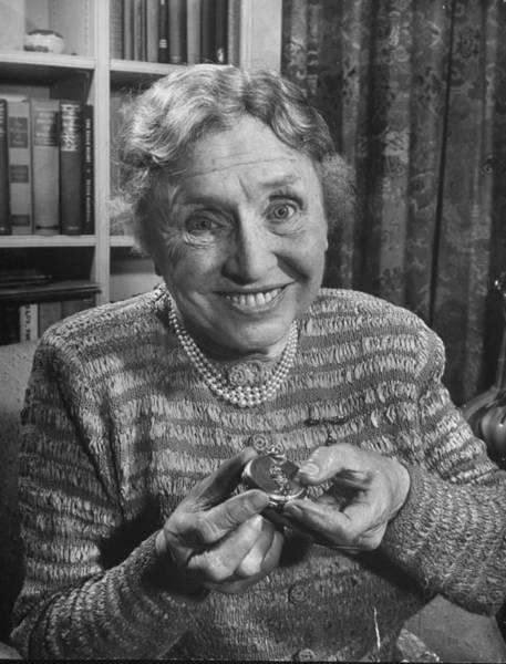 Heroine Photograph - Helen Keller by Larry Burrows