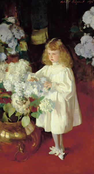Wall Art - Painting - Helen Sears, 1895 by John Singer Sargent